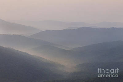 Blue Ridge Mountains Art Print by Jonathan Welch