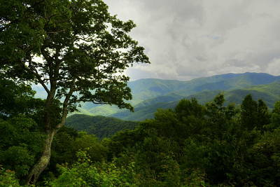 Photograph - Blue Ridge Mountains by Kathy Barney