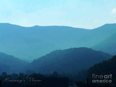Blue Ridge Mountains Art Print by Lorraine Heath