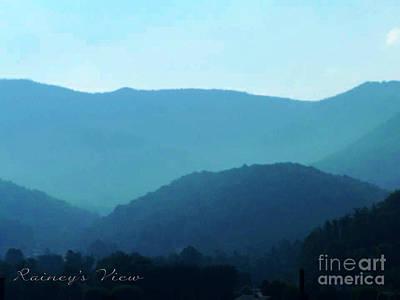 Photograph - Blue Ridge Mountains by Lorraine Heath