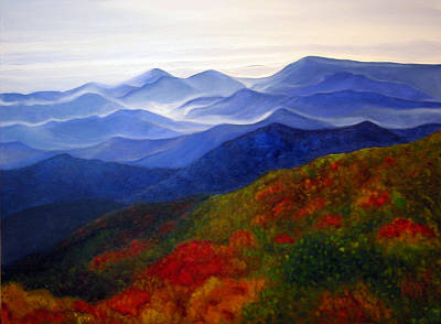 Painting - Blue Mountains by Katherine Miller