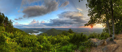 Photograph - Blue Ridge Mountains Panorama by Debra and Dave Vanderlaan