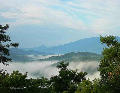 Photograph - Blue Ridge Mountains by Pat McGrath Avery