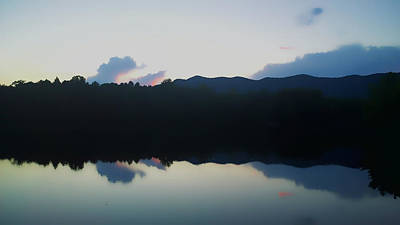 Photograph - Blue Ridge Mountains Reflected In A Lake by Kelly Hazel
