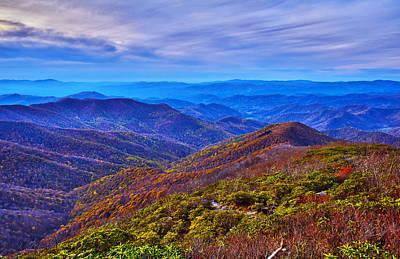 Photograph - Blue Ridge Parkway by Alex Grichenko