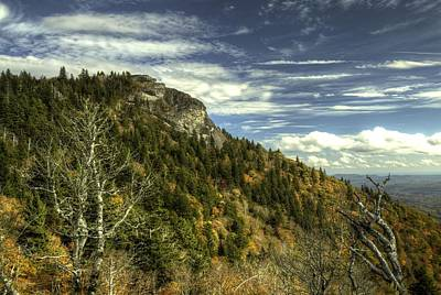 Photograph - Blue Ridge Parkway Devil's Courthouse by Carol Montoya