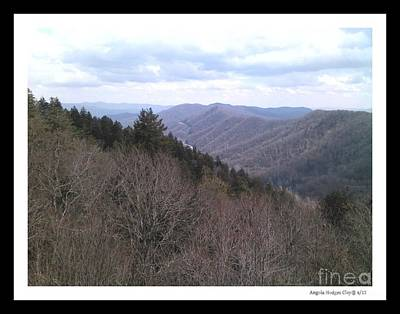 Digital Art - Blue Ridge Parkway Horizon by Angelia Hodges Clay
