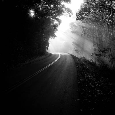 Photograph - Blue Ridge Parkway Morning  by Gray  Artus