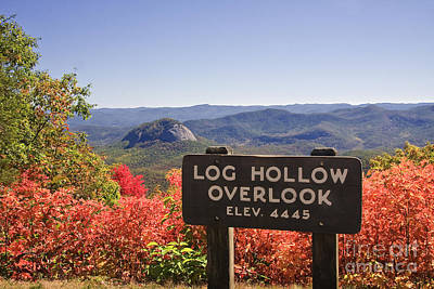 Photograph - Blue Ridge Parkway Overlook by Jill Lang