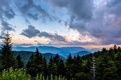 Photograph - Blue Ridge Parkway by Randy Scherkenbach