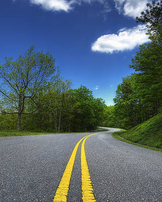 Photograph - Blue Ridge Parkway - Va by Steve Hurt