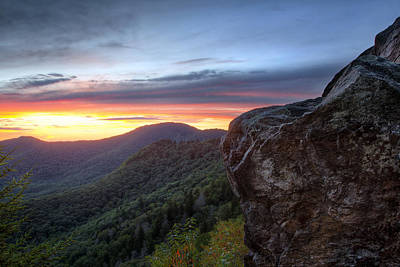 Photograph - Blue Ridge Sublime by Aaron Morgan