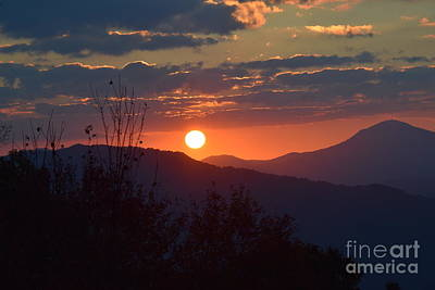 Photograph - Blue Ridge Sunrise by Gary Smith