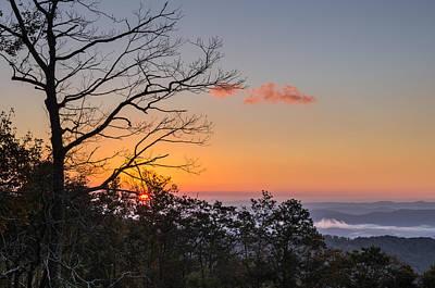 Art Print featuring the photograph Blue Ridge Sunrise by Gregg Southard