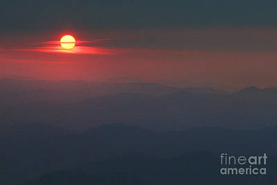 Blue Ridge Sunset 5 Art Print by Jonathan Welch