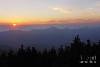 Blue Ridge Sunset 6 Art Print by Jonathan Welch
