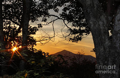 Blue Ridge Sunset Art Print by Jonathan Welch