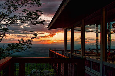 Photograph - Blue Ridge Sunset by Lara Ellis