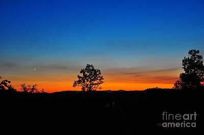 Photograph - Blue Ridge Sunset by Randy Rogers