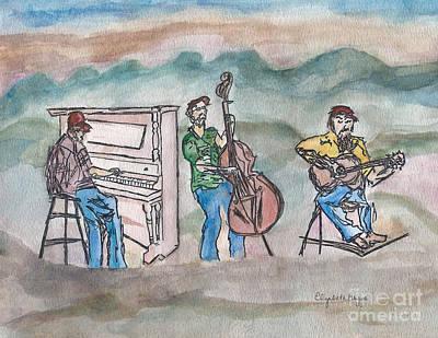 Blue Ridge Tradition   Original by Elizabeth Briggs