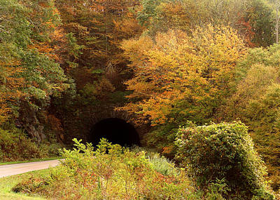 Photograph - Blue Ridge Tunnel by TnBackroadsPhotos