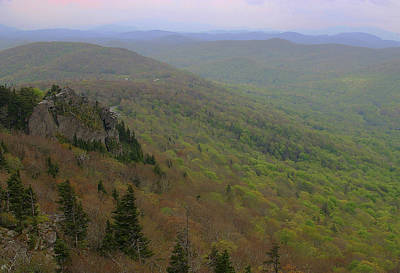 Photograph - Blue Ridge View 3 by Karol Livote