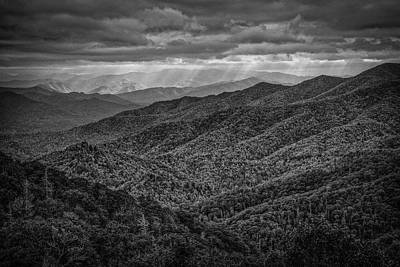 Photograph - Blue Ridge View by David Waldrop