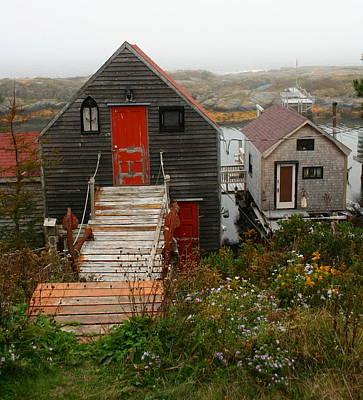 Photograph - Blue Rocks - Nova Scotia by Michael Cervin