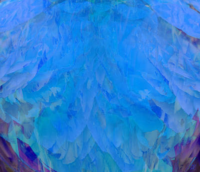 Photograph - Blue Ruffle by Stephanie Grant