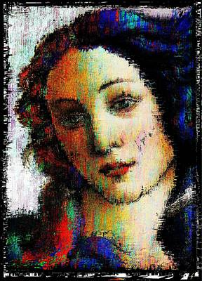 Simonetta Vespucci Painting - Blue Ruin by Brett Sixtysix