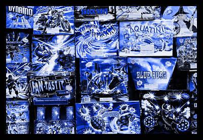 Photograph - Blue Rush by John Stephens