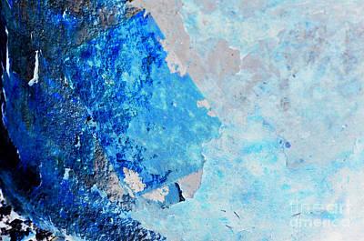 Blue Rust Art Print by Randi Grace Nilsberg