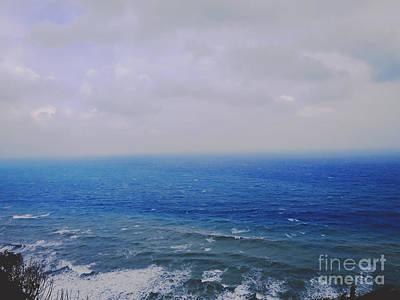 Photograph - Blue Sad by Champion Chiang
