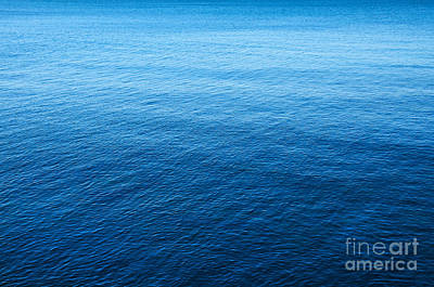 Blue Sea Art Print by Carlos Caetano