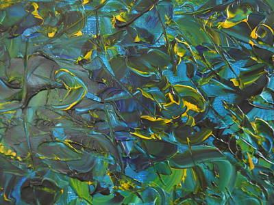 Blue Sea Art Print by Lisa Williams