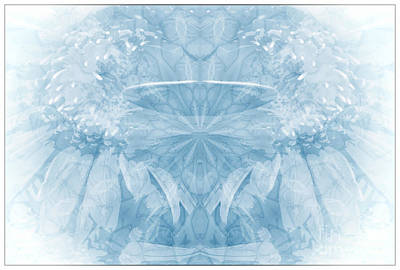 Art Print featuring the photograph Blue Serinity by Geraldine DeBoer