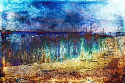 Photograph - Blue Shore by Randi Grace Nilsberg