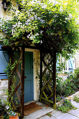 Blue Shutter Cottage Original