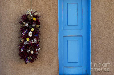 Photograph - Blue Shutter by Dave Gordon