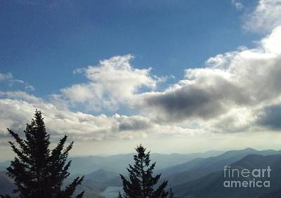 Photograph - Blue Silhouette by Scott Hervieux