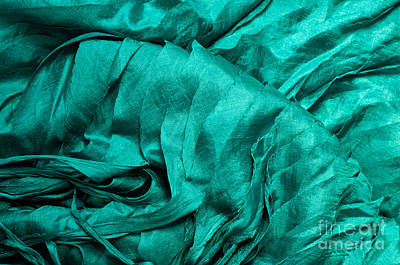 Photograph - Blue Silk 01 by Rick Piper Photography