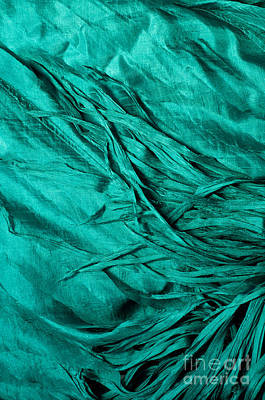 Photograph - Blue Silk 02 by Rick Piper Photography
