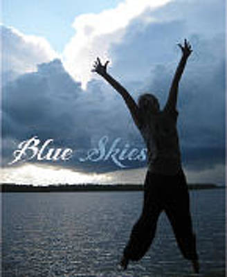 Photograph - Blue Skies Gallery Logo by Tom Roderick