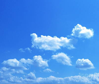 Photograph - Blue Skies IIi by M West