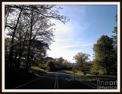 Digital Art - Blue Skies In Elliston by Angelia Hodges Clay