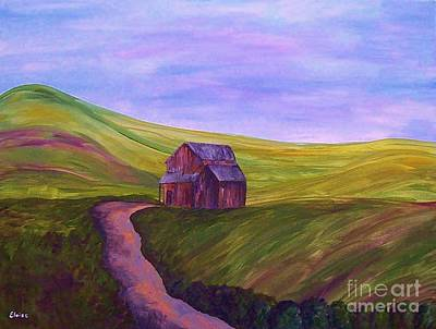 Blue Skies In The Hill Country Art Print by Eloise Schneider