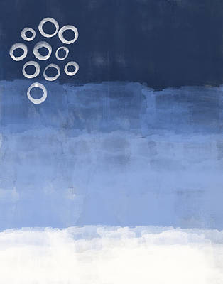 Blue Sky Art Print by Aged Pixel