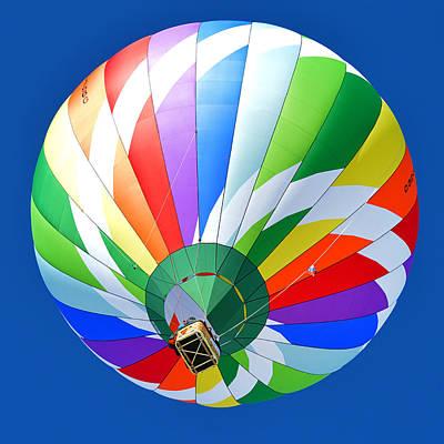 Blue Sky Balloon Art Print by Stephen Richards