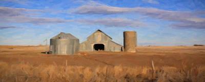 Blue Sky Barn Original by KBR for MWM Gallery