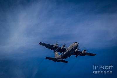 Photograph - Blue Sky Bomber by Jim McCain